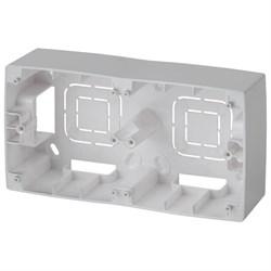 Коробка для накладного монтажа 2-постовая ЭРА 12 12-6102-03 Б0043172