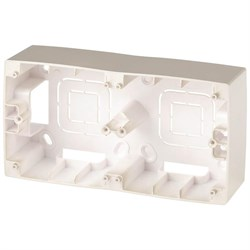 Коробка для накладного монтажа 2-постовая ЭРА 12 12-6102-04 Б0043173