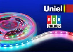 Светодиодная лента Uniel 14,4W/m 60LED/m 5050SMD RGB 5M ULS-5050-60LED/m-10mm-IP20-DC24V-14,4W/m-5M-RGB 04932