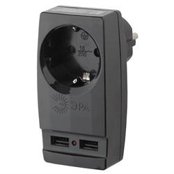 Сетевой разветвитель ЭРА SP-1e-USB-B Б0026333
