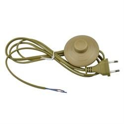 Шнур сетевой с вилкой и выключателем Uniel UCX-C20/02A-170 Brown UL-00004436
