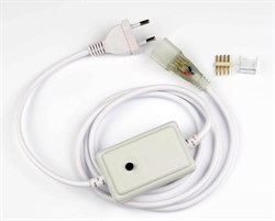 Провод для монохромной светодиодной ленты Neon Uniel UCX-SP4/N22 White 1 Sticker UL-00005799