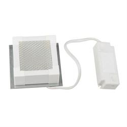 Встраиваемый светодиодный светильник Uniel ULP-1010 7W/4000К Ip40 Grilyato White UL-00007426