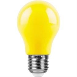 Лампа светодиодная Feron E27 3W желтая LB-375 25921