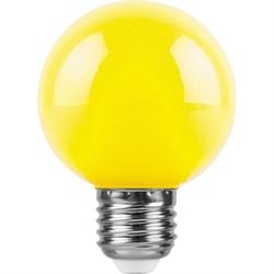 Лампа светодиодная Feron Е27 3W желтая LB-37125904