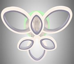 Светодиодная люстра Lighting Angel C19305/3+3 WH